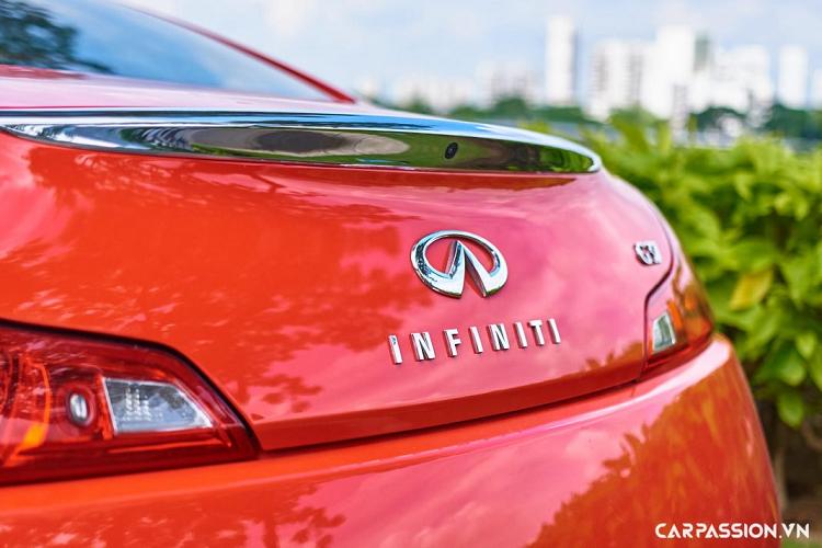 Chi tiết Infiniti G37 coupe 'hàng hiếm' tại Việt Nam