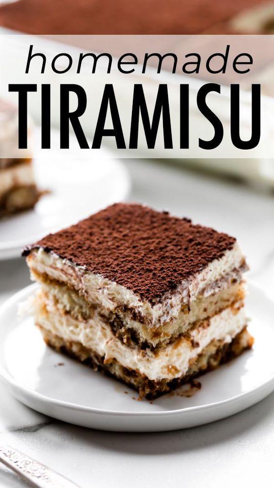 Tiramisu (Recipe