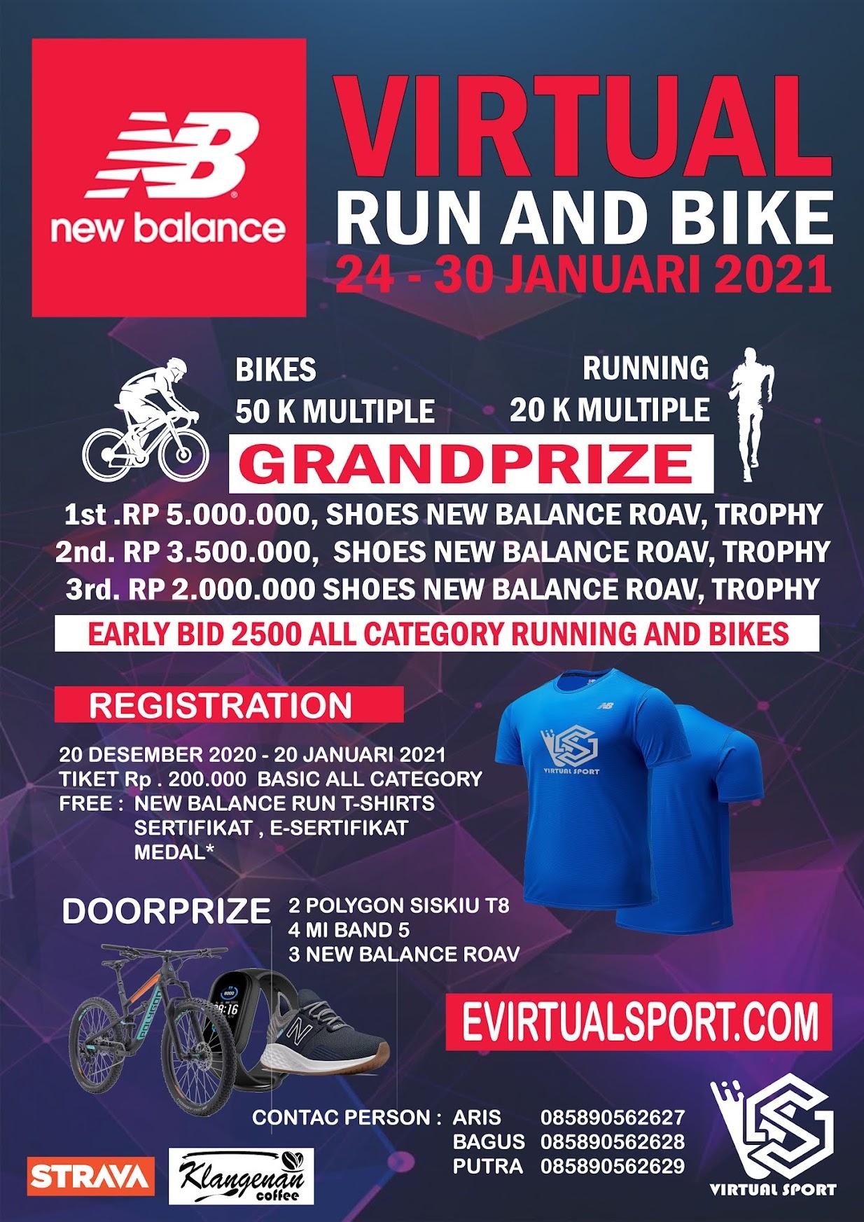 New Balance Virtual Run and Ride • 2021