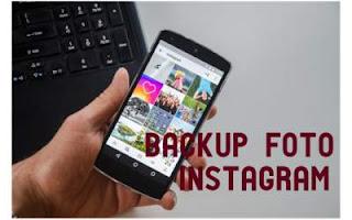 backup foto instagram