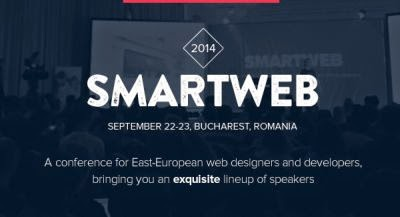 Intalneste cei mai buni experti internationali in web design la SmartWeb Conference