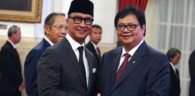 Golkar: Airlangga Hartarto Dan Agus Gumiwang Akan Bantu Jokowi Lagi Di Kabinet