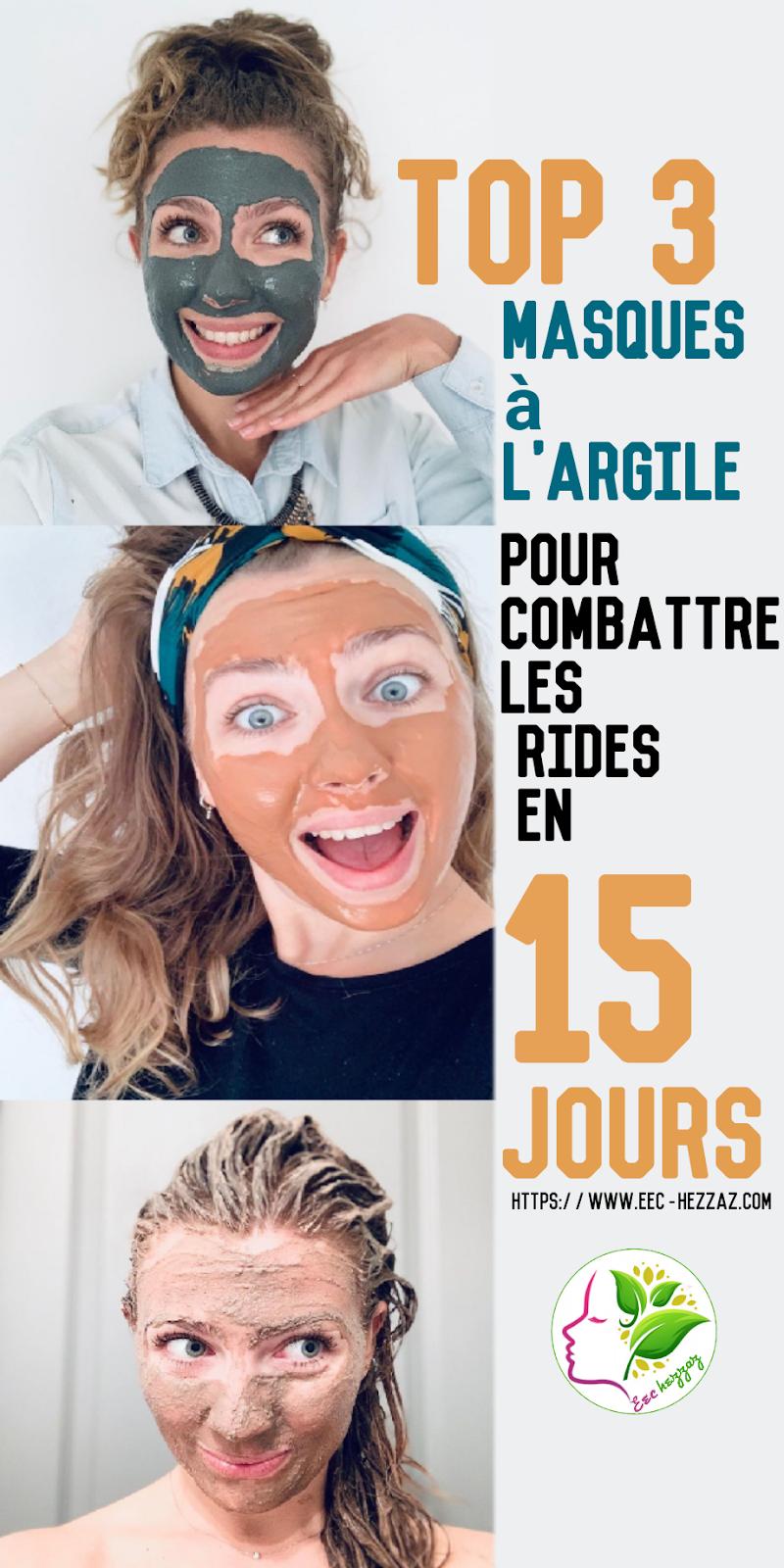 Top 3 masques à l'argile pour combattre les rides en 15 jours