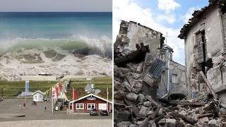 El cambio climatico puede provocar terremotos y tsunamis.