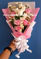 bunga hand bouquet surabaya
