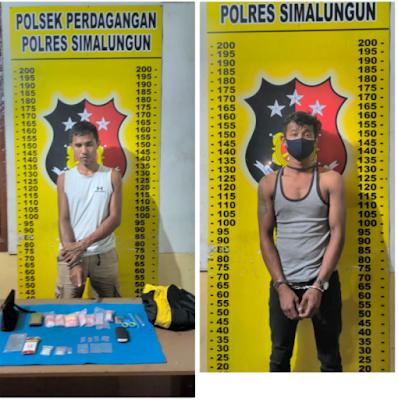 Pengedar dan Calon Pembeli Sabu Digagalkan Polisi saat Transaksi di Perdagangan