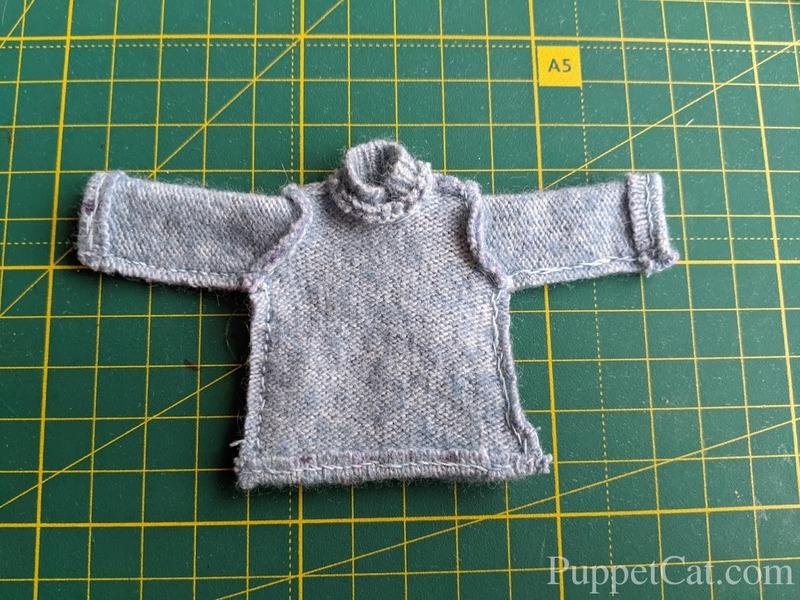 Шьем свитер Баболикам