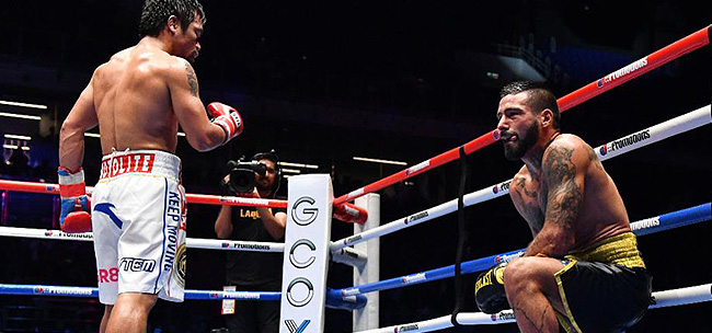 HIGHLIGHTS: Manny Pacquiao vs. Lucas Matthysse  (VIDEO) Round 7 Knockout!