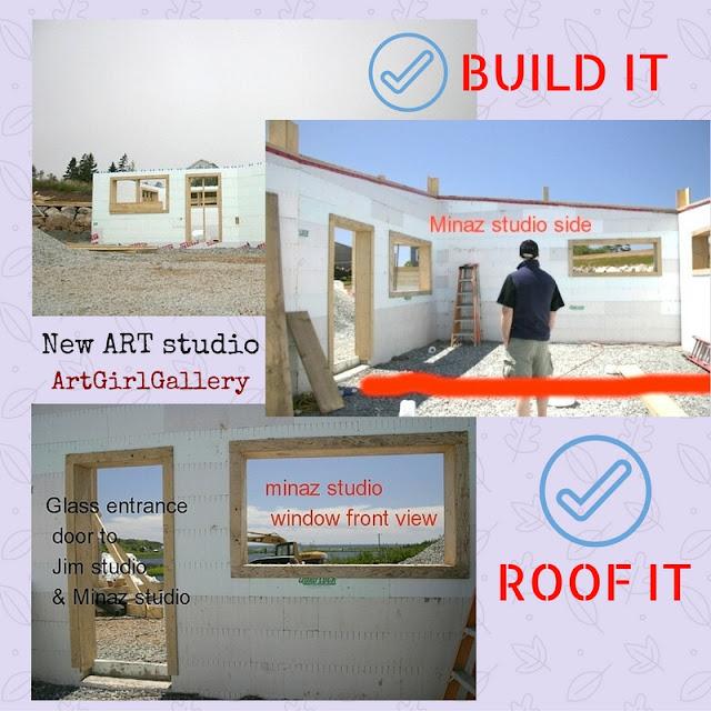 NEW House & Studio Building