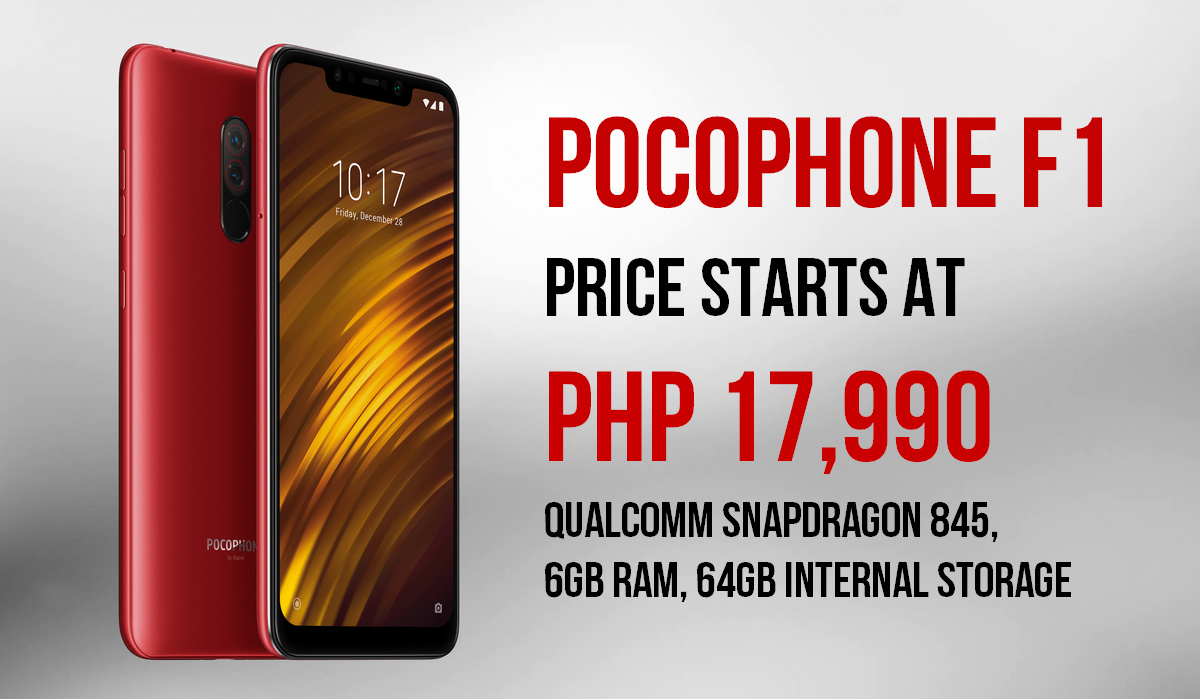Xiaomi Pocophone F1 Philippines