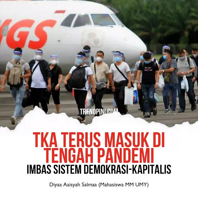 WNA terus berdatangan tatkala larangan mudik berlaku selama 6-17 Mei 2021. Dalam 2 pekan terakhir, sebanyak 157 Tenaga Kerja Asing (TKA) asal China datang ke Indonesia pada 8 Mei 2021 dan 110 TKA asal China pada 13 Mei 2021 lau melalui Bandara Soekarno-Hatta. Sebelumnya, tercatat telah berkai-kali WNA datang ke Indonesia. Tercatat sebanyak 695 Warga Negara Asing (WNA) masuk ke Indonesia terhitung sejak Januari 2021 yang didominasi oleh para TKA dari China dan WNA asal India.
