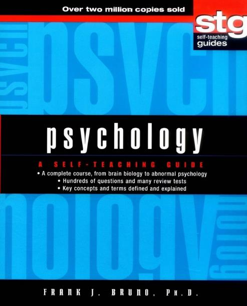 Psychology A Self Teaching Guide