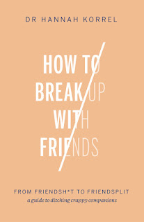 How To Break Up With Friends by Hannah Korrel book cover