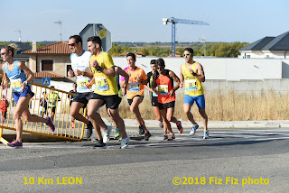 Fotos y videos carrera 10 k Ciudad de Leon 2018