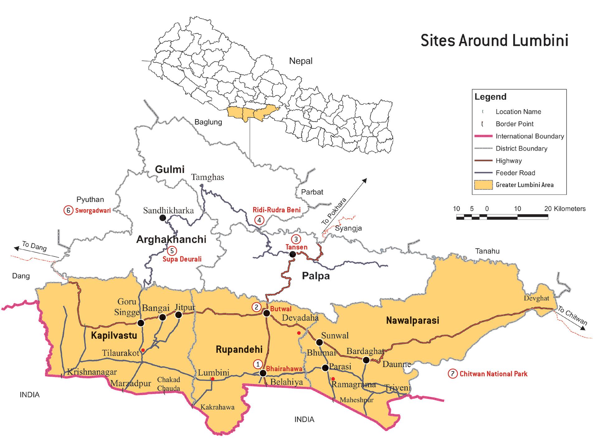 The Greater Lumbini Area