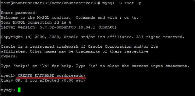 Cara Install WordPress Di Ubuntu Server 18.04