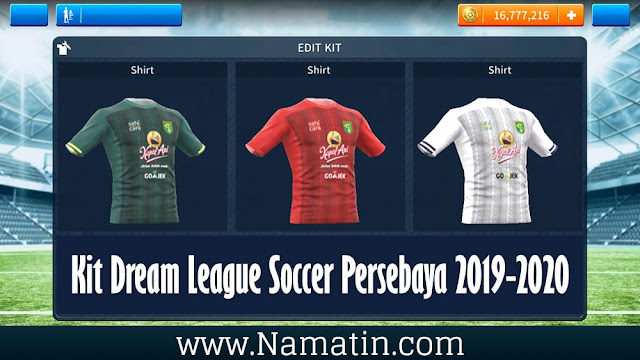 Kit Dream League Soccer Persebaya Terbaru