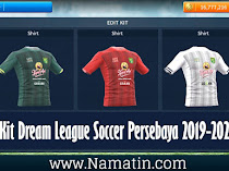 Logo & Kit Dream League Soccer Persebaya 2019-2020