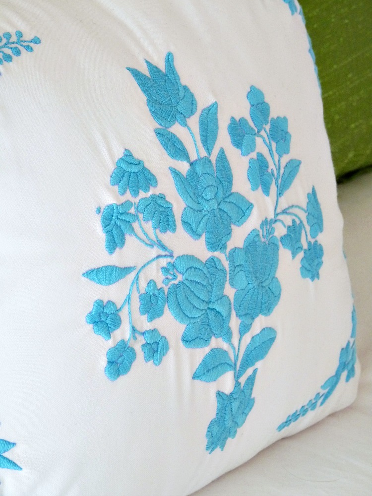 Turquoise Hungarian Embroidery
