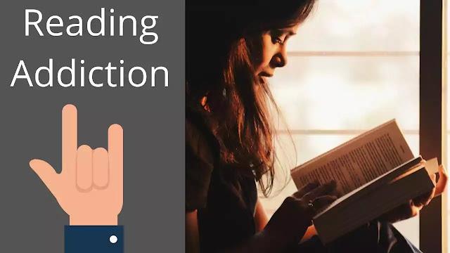 weirdest addiction reading addiction