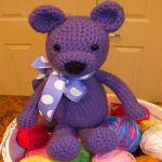 patron gratis oso amigurumi    free pattern amigurumi bear