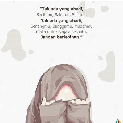Gambar kata bijak muslimah bercadar