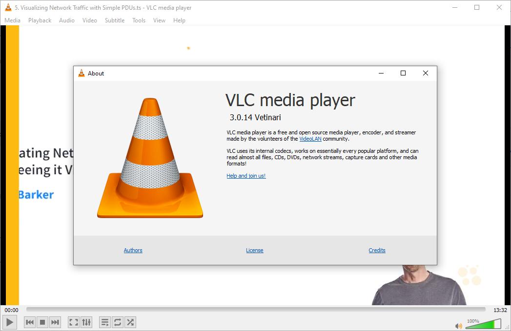 VLC (VideoLAN) Media Player 3.0.14