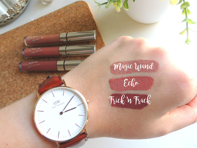 Jane Wonder || June and July Favourites- ColourPop Ultra Satin Lips in Magic Wand, Echo and Frick n' Frack
