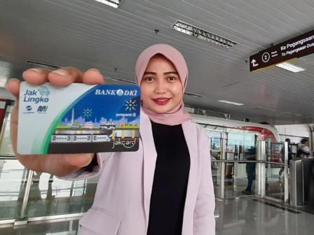 Permudah Pengguna LRT, Bank DKI Siapkan Kartu JakCard dan Jak Lingko