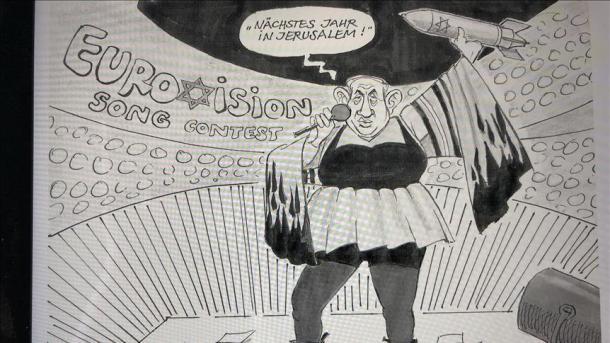 Aliyechora katuni ya Netanyahu afukuzwa kazi