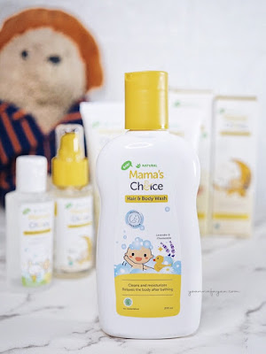 Review Mama's Choice Baby Hair and Body Wash