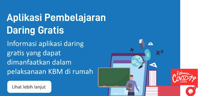Aplikasi Belajar Online; Telkomsel, XL Axiata dan Indosat Gratiskan Kuota Untuk Guru dan Siswa