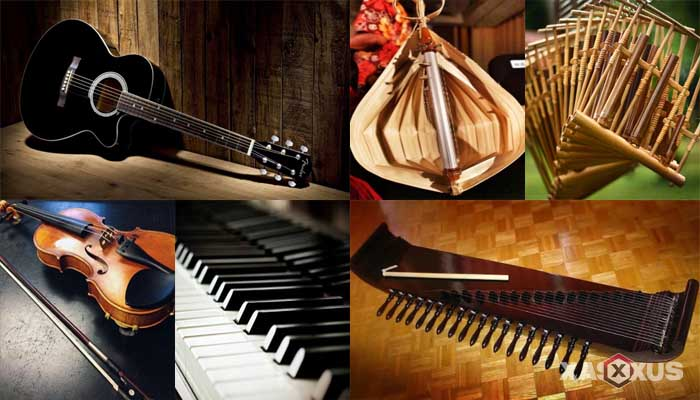 15 Alat Musik Melodis Tradisional Modern Beserta Gambar Contoh