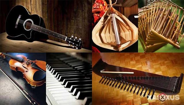 15 Alat Musik Melodis Tradisional Modern Beserta Gambar, Contoh, Fungsi dan Penjelasannya