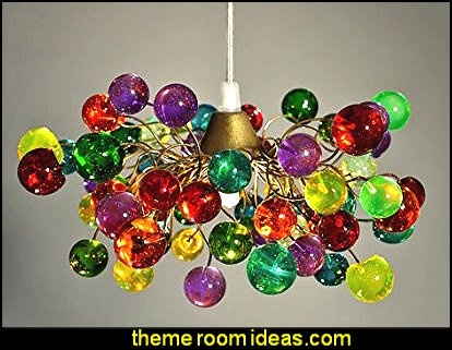 Colorful Bubbles Lamp Shade