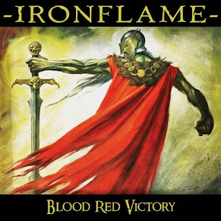 "Το album των Ironflame ""Blood Red Victory"""