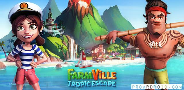 لعبة FarmVille: Tropic Escape v1.77.5546 مهكرة للاندرويد (اخر تحديث) logo