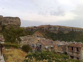 Corleone is surrounded by rugged landscape in the heart of Sicily