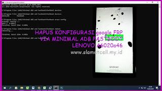 Hapus FRP Google Lenovo Vibe K5 Plus