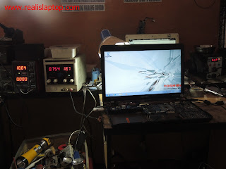 Service Laptop Toshiba P745 konslet Kena Air