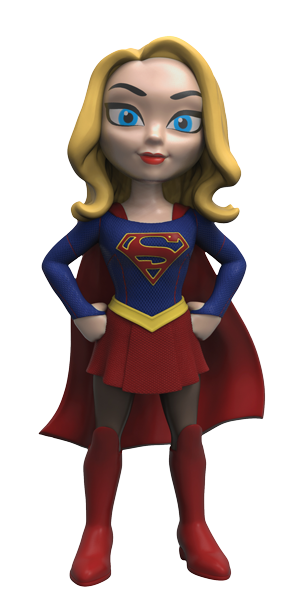 Legion of Collectors Exclusive Supergirl TV Series Rock Candy DC Comics Vinyl Figure by Funko