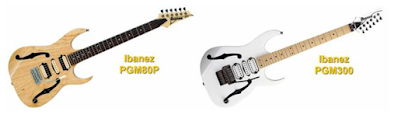 Ibanez PGM80P and Ibanez PGM300 Electric Guitars