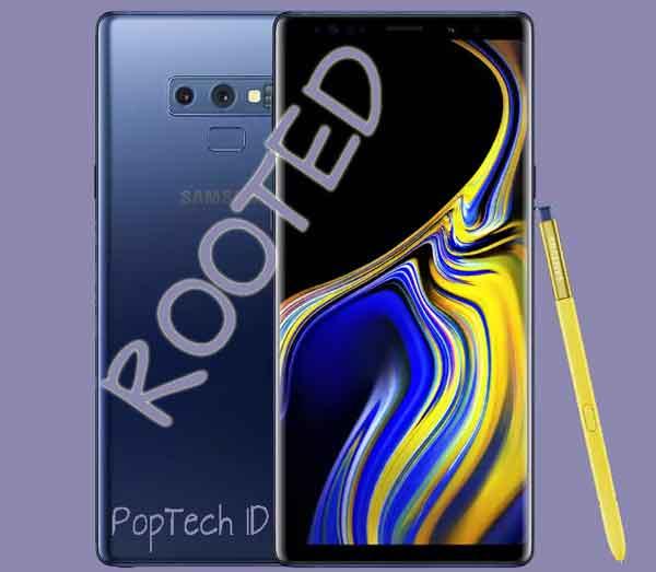 Cara Root Samsung Galaxy Note 9 - N960F / FD / N