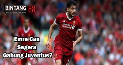Emre Can Segera Gabung Juventus?