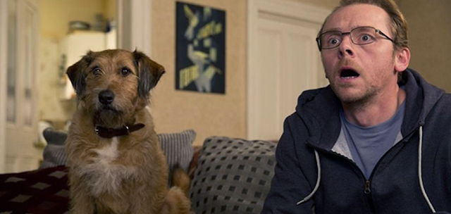 Robin Williams şi Simon Pegg în comedia Absolutely Anything