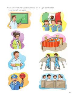 Apoyo Primaria Formación Cívica y Etica 2do. Grado Bloque IV Lección 3 Funciones de las autoridades