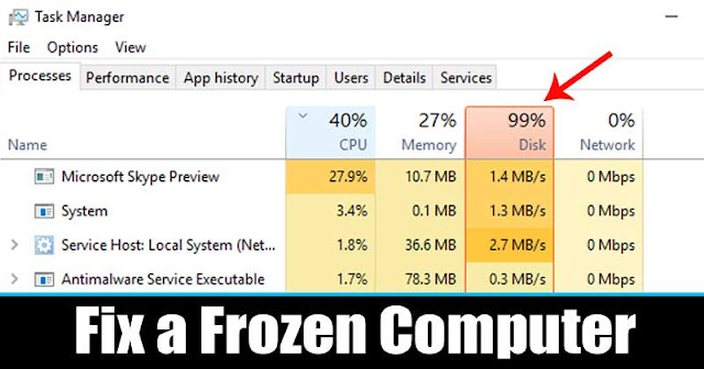 Cara Restart Windows Explorer.exe Untuk Memperbaiki Laptop / PC Freeze