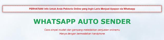 WA Auto Sender: Whatsapp Marketing Solution
