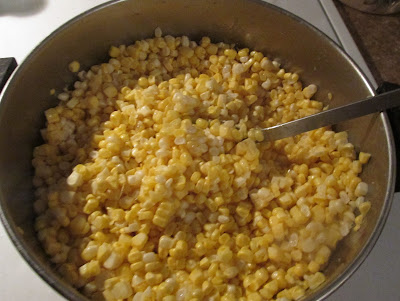 Easy steps to freezing corn!   Vickie's Kitchen and Garden