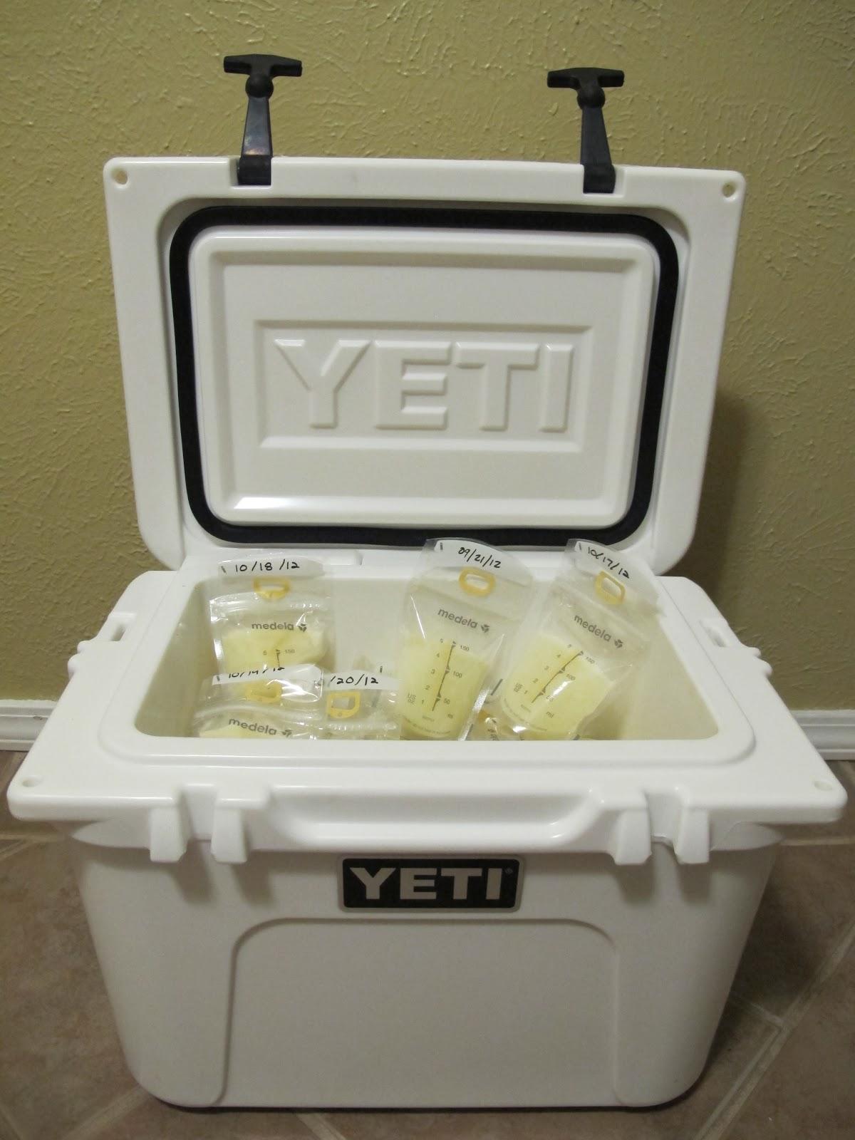 Bedroom Baby Milk Cooler: Run Daddy Run: Yeti Coolers, Frozen Breast Milk, And A